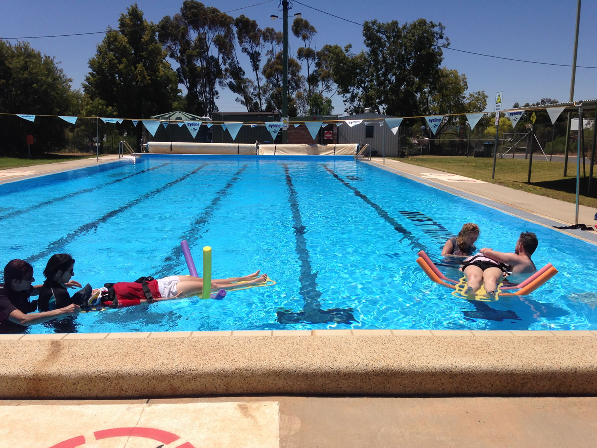 Swimming Pool Training Roger Abel Training Services